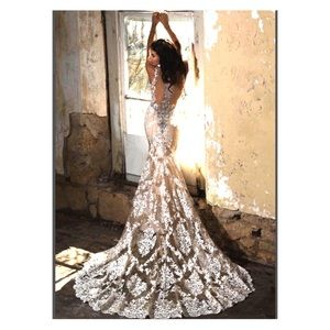 Cristiano Lucci affordable Luxury wedding dress
